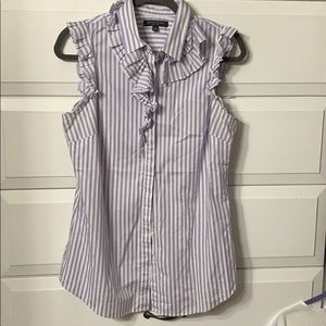 Banana Republic Riley Sleeveless Button down
